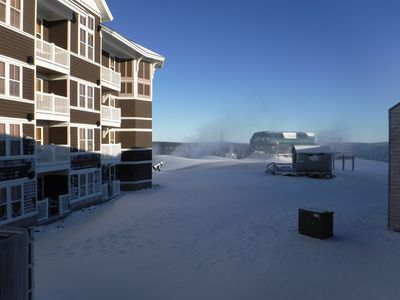 Photo for Mt Lodge 202..Slope Side..Ski in/out...2Bd/2Bth