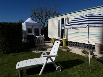 Photo for Spacious mobile home on the island of Oléron