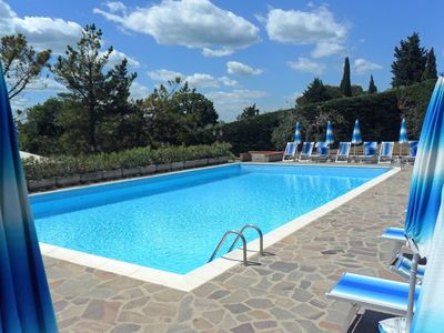 Photo for 2BR Apartment Vacation Rental in Montaione, Toscana