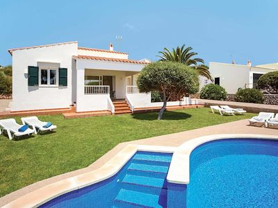 Photo for Great villa in a popular area. Laze around the pool & BBQ area, or walk to restaurants & sandy beach