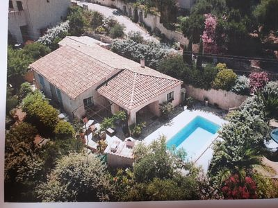 Photo for Villa with swimming pool in Santa réparata, 4 Km from the sea (Ile Rousse)
