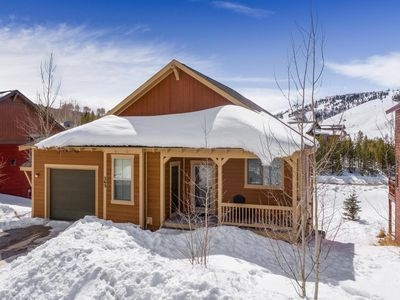 Photo for Ski-In/Ski-Out Spacious Mountain Home in the Heart of Granby Ranch!