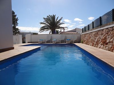 Photo for Beautiful villa for 6 people with pool, wifi, air conditioning, barbecue