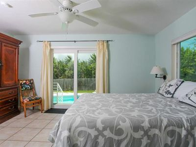 Photo for Beautiful private beach and backyard pool at your restored Old Florida house!