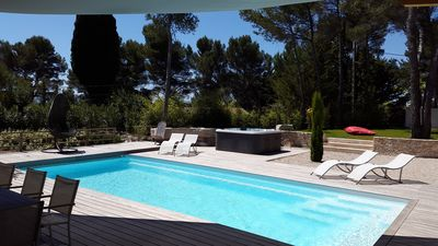 Photo for heated pool and heated pool designer villas 3 minutes from the center