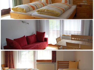 Photo for Top 9 apartments / 2 bedrooms / shower, WC - Gästehaus Edelweiss