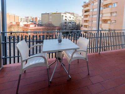 Photo for Apartment 633 m from the center of Barcelona with Lift, Internet, Washing machine, Air conditioning (88993)