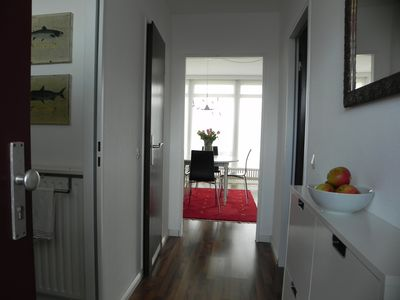 Photo for The beach apartment in Grömitz, for 2 people, 100 m to the beach, WiFi