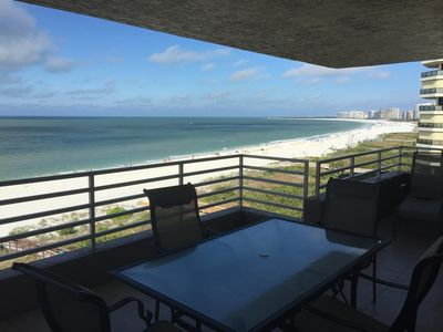 Photo for Marco Island Beach Front Condo with West Views of Sunsets