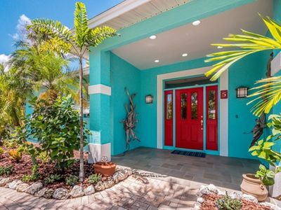 Photo for Private pet friendly home w/ canal front views  and private heated pool.