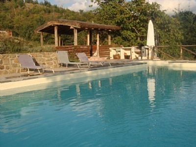 Photo for Tuscan Villa with Private Pool and stunning views sleeping up to 11 people