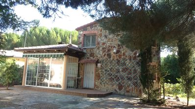 Photo for THE OLIVES. ROMANTIC RURAL HOUSE VALLADOLID PINARES. COMPLETE HOUSE 8 SEATS