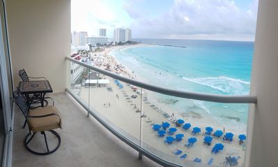 Photo for Beachfront Studio in Cancun´s Heart. Breathless view!
