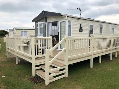 Photo for Spacious Lovely Holiday Home, New 2019 Caravan