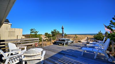 Photo for New Listing: Bungalow on the Dunes, Oceanfront w/ Bay Access, Open Living and Breezy & Scenic Deck