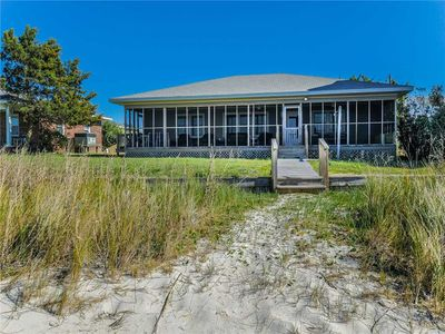 Photo for WHITAKER: 3 BR / 2 BA soundfront in Topsail Beach, Sleeps 6