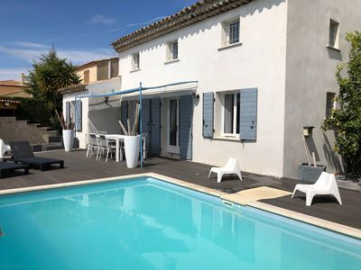 Photo for Villa standing - 8 pers. - Pool - Seaside