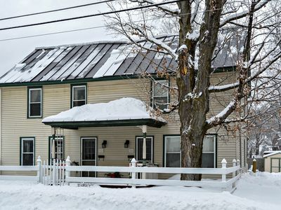 Photo for Cozy, historic home, quick walk to Ludlow village, shuttle to slopes!