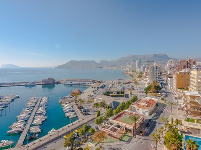 Photo for MARITIMO, apartment in first line of the sea in Calp