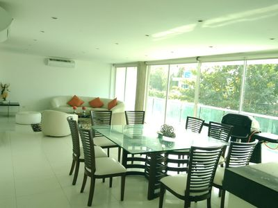 Photo for Luxury apartment 3 bedrooms 3 bathrooms 10 people.