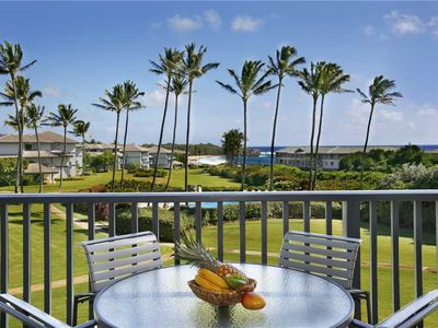 Photo for Poipu Sands Beautiful Ocean View *Poipu Sands 123*