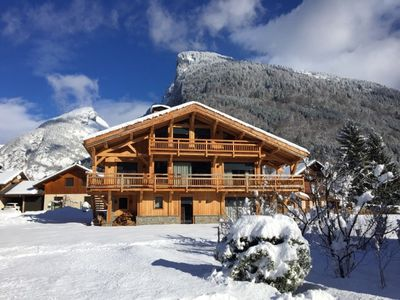 Photo for Homerez last minute deal - Chalet - 700 m from the slopes