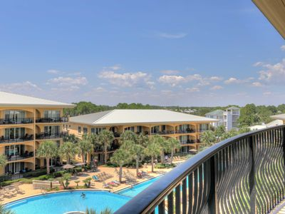 Photo for Adagio D-401 Corner Unit- Newly Remodeled, Pool Side & Heated Gulf front Pool!