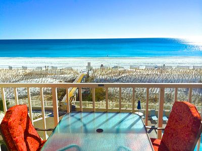 Photo for Spring Special,  Sea Oats 2/bd - 2/ba, Direct Beachfront, Free Beach Service