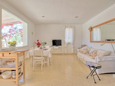 Photo for Antico Trullo  apartment in Marina San Gregorio with air conditioning, private parking, private ter…