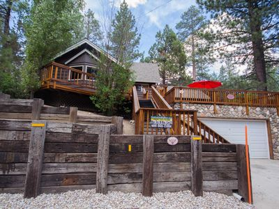 Photo for Mountain Time: Hot Tub! Great Cabin Features! Shuffleboard! Yard! Family Room! Cable TV!