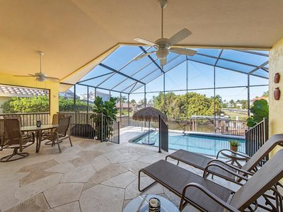 Photo for Sunny Daze- Tiki Bar in the Pool, Canal Home