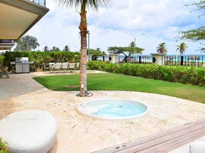 Photo for BEACHFRONT - EAGLE BEACH - OCEANIA RESORT - Grand Regency 5BR condo - BG131