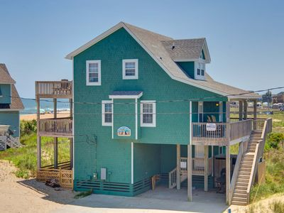 SEMI-OCEANFRONT, GORGEOUS VIEWS, 5 BR , 3 1/2 BA, Dogs Allowed