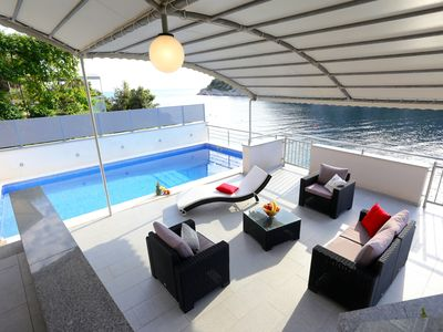 Photo for This 4-bedroom villa for up to 9 guests is located in Razanj/Ražanj and has a private swimming pool,