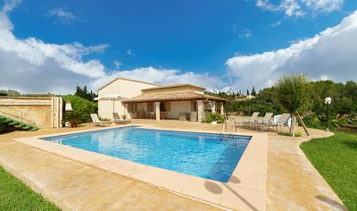 Photo for Villa With Private Pool 5 minutes drive to Pollensa town