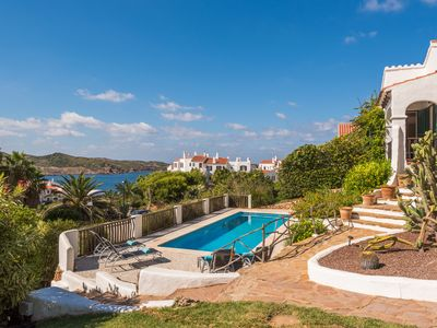 Photo for Luxury Villa with Pool, Jacuzzi and Sea Views and 5 Min Walk To Shop/Restaurants