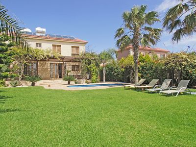 Photo for Dorothy Villa - Detached Villa in a Peaceful Seafront Location with Private Pool and Large Garden ! - Free WiFi