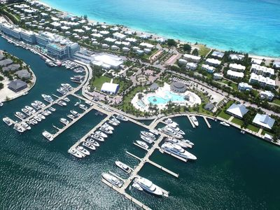 Photo for 60 Ft. Dock at Mega Yacht Marina next to casino, hotel and pools. Bimini