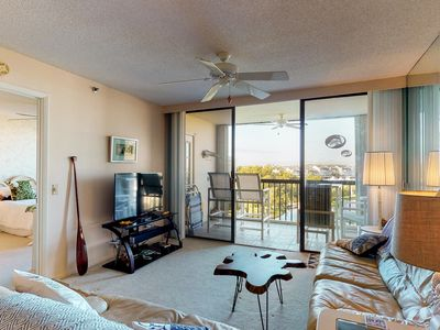 Photo for NEW LISTING! Comfortable condo with three shared pools and a hot tub!