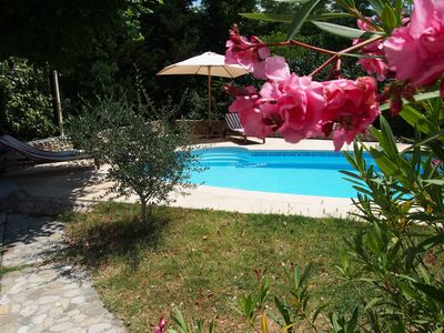 Photo for Mon Rêve in Villedieu - Provençal holiday house with a very nice pool