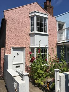 Photo for Old fisherman's cottage close to the beach in the heart of Aldeburgh