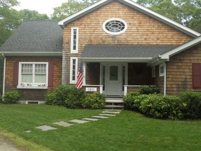 Photo for Newly built, lovely, spacious Hamptons house close to nature