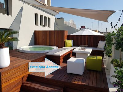 Photo for Exclusive individual Luxury Suite 4 with free access Spa and Lounge (adults only)