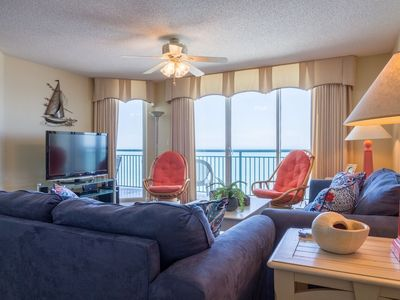 Photo for Windy Hill Dunes Relax & Enjoy Ocean Front Luxury Condo with Pool, Grills!