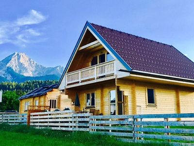 Photo for Very nice newly built chalet near the Faakersee, Velden and Gerlitzen ski resort