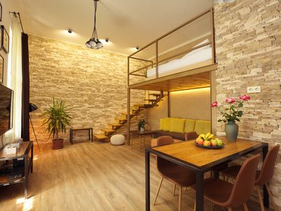 Photo for Perfect Choice for Couples- The Stoned Loft- In the Heart of Budapest