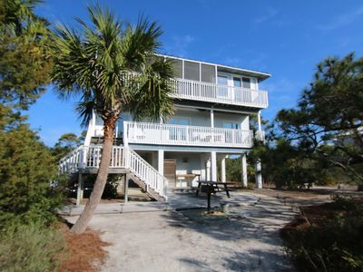 "Photo for Ready Now- No Storm Issues! FREE BEACH GEAR! Plantation, Pool, Screened Porch, Wi-Fi, 3BR/3.5BA ""Bluebird Landing"""