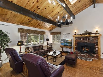 Photo for Mount Shasta Retreat: Updated Home in Whispering Pines Estates with Outdoor Hot Tub & more!