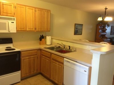 Photo for Beautiful 1st Floor Unit...Spacious Open Floor plan. 3 pools and tennis courts.