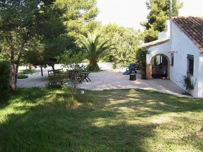 Photo for Javea: House with garden and pool in exclusive urbanization